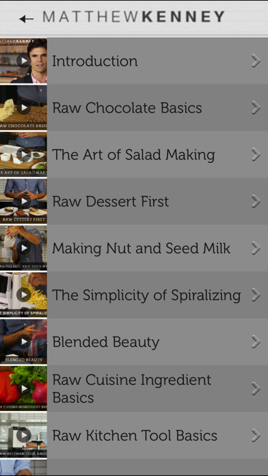 Matthew Kenney's Everyday Raw Express Screenshot