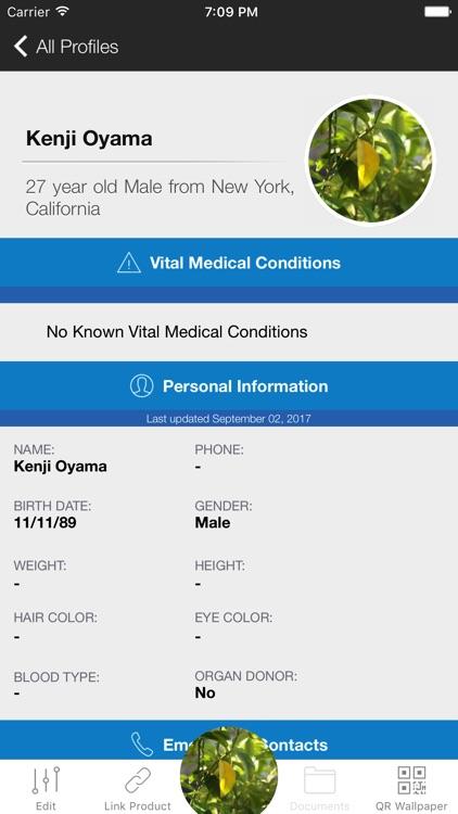 SafeHouse - Medical ID Profile screenshot-3