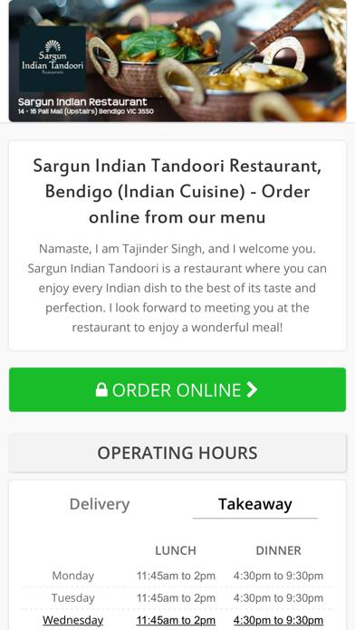 Sargun Indian Tandoori Restaurant screenshot two