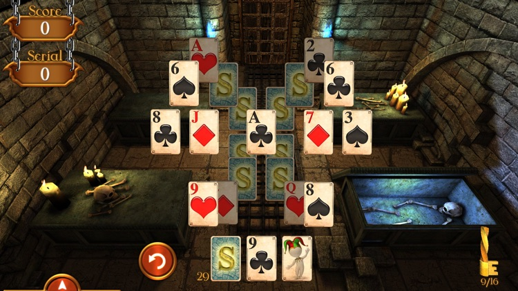 Solitaire Dungeon Escape screenshot-1