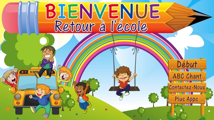 Learn French ABC Letters Rhyme screenshot-3