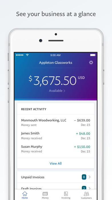 PayPal BusinessSend Invoices App Price Drops - Send invoice paypal