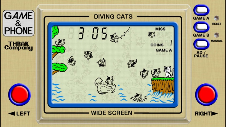 Diving Cats - Game & Phone
