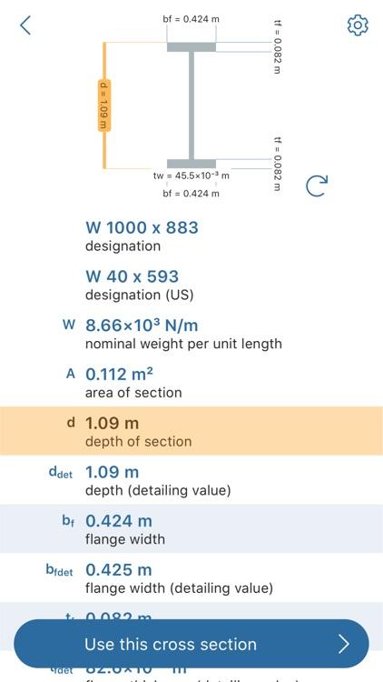 Beam Deflection Calculator screenshot-7