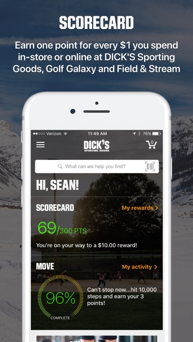 Dicks Sporting Goods Fitness review screenshots