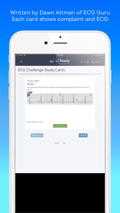 ECG Challenge screenshot-2
