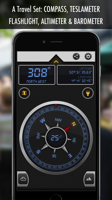 Compass X - GPS Magnetic North screenshot one