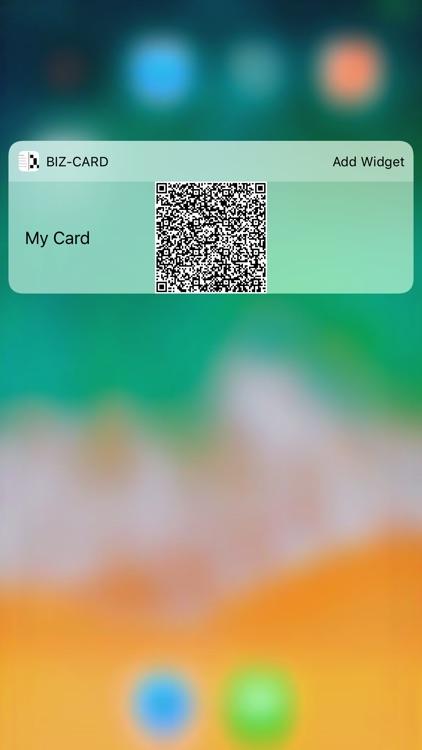 Biz-Card App screenshot-5
