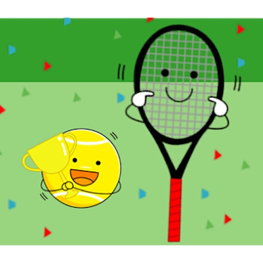 Cute Tennis Ball Emoji Sticker by Quang Tran Vinh