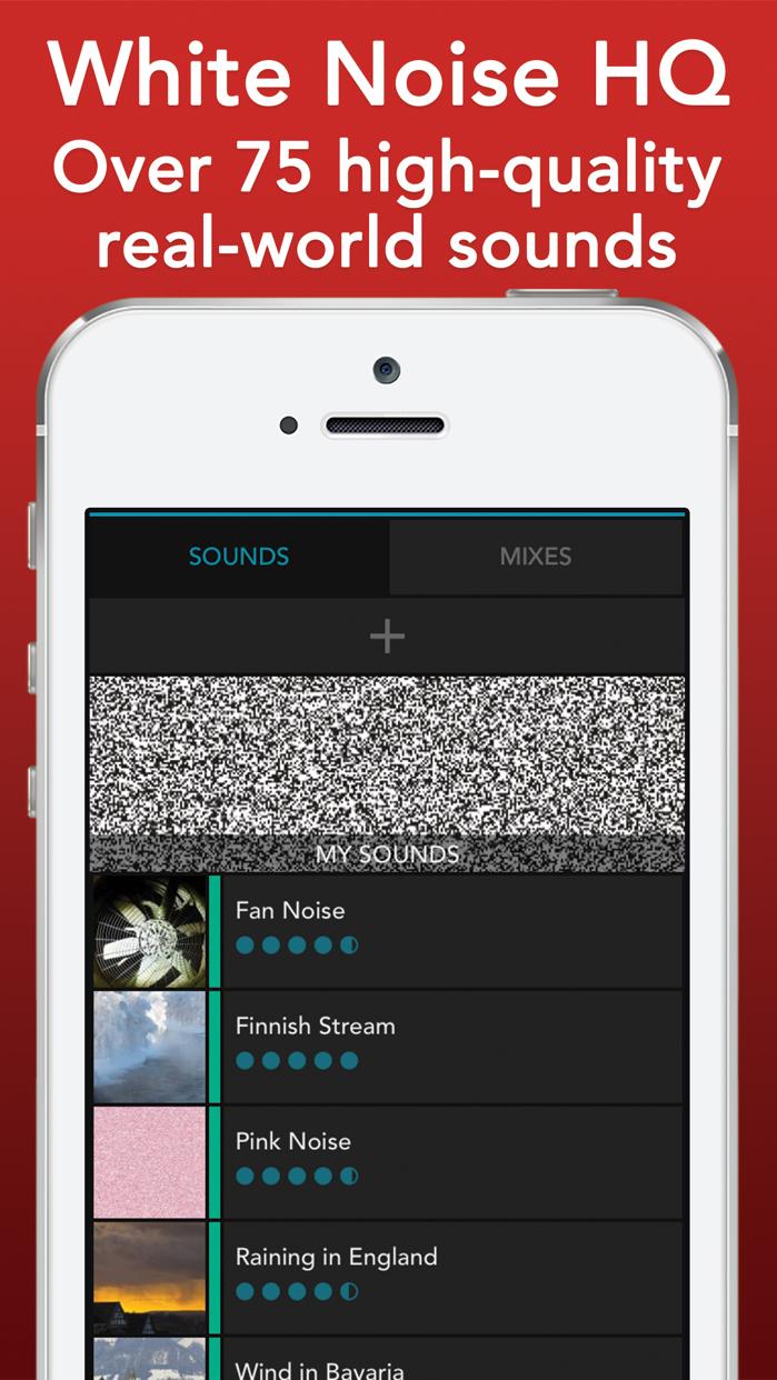 White Noise HQ: sound machine Screenshot