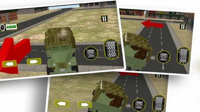 Driving Army Car Offroad screenshot 1