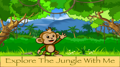 Baby Chimp Runner : Cute Gameのおすすめ画像1