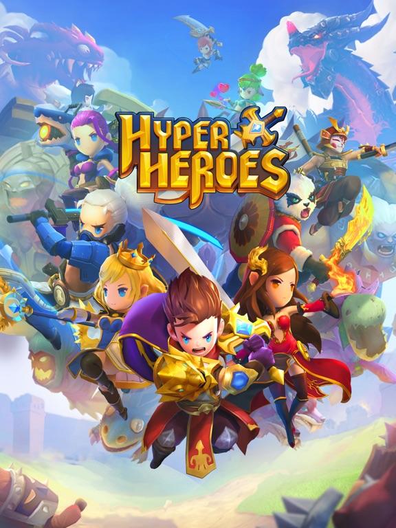 Hyper Heroes: Marble-Like RPG на iPad