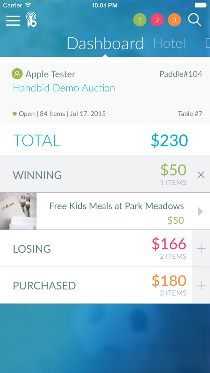 Handbid screenshot-1