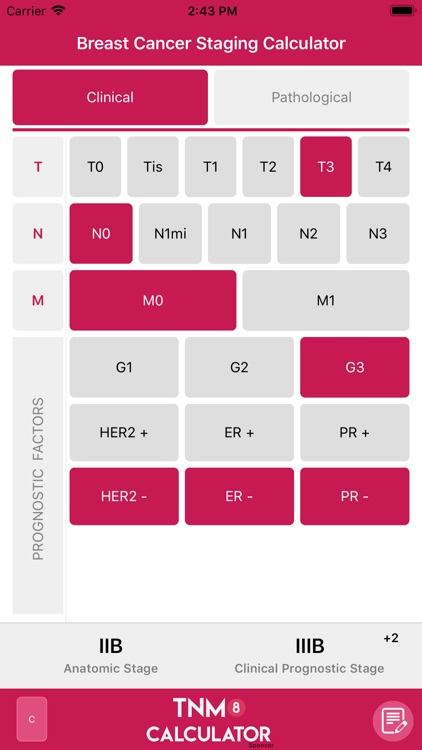 TNM8 Breast Cancer Calculator screenshot-2