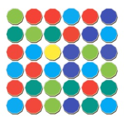 Dots and boxes-colour matches
