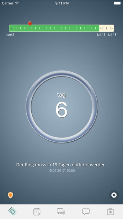 Screenshot for Pille Erinnerung - myPill® in Germany App Store