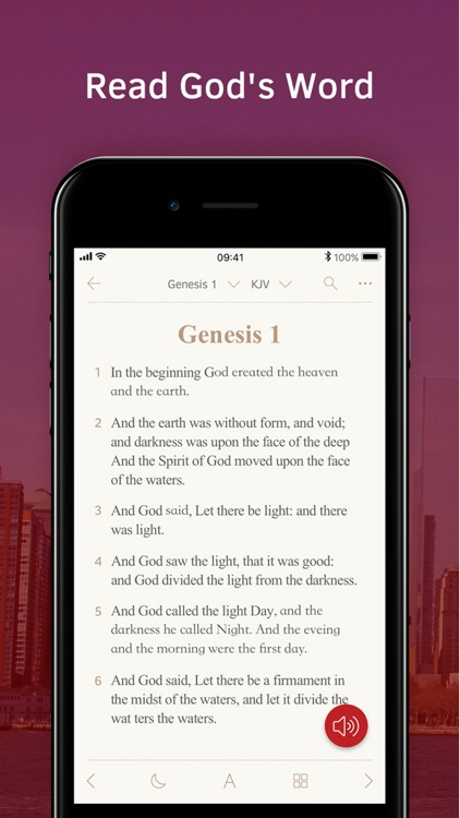 Light Bible: Verses, Audio