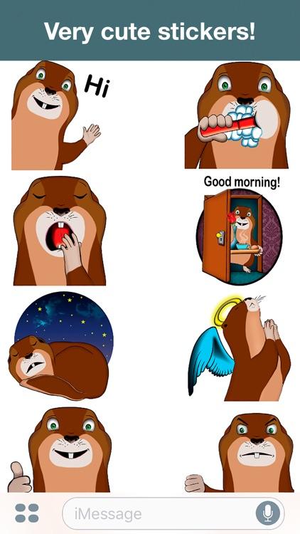 Suslik - Cute stickers