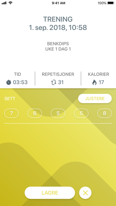 Screenshot for Just 6 Weeks PRO in Norway App Store