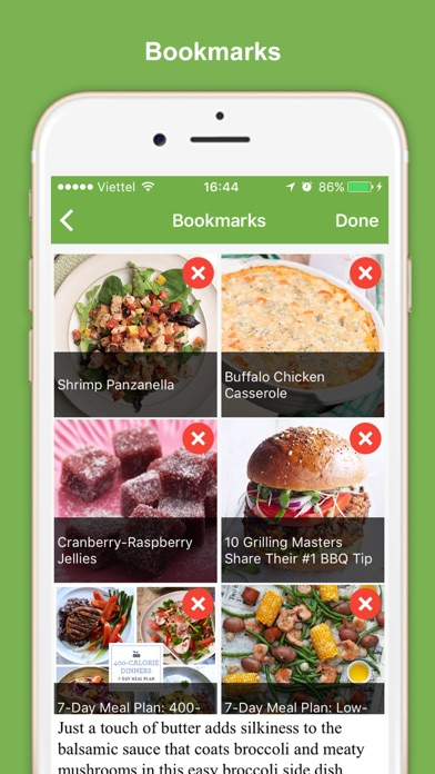 Healthy Eating Meal Plans screenshot four