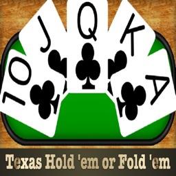 Texas Hold 'em or Fold 'em - Poker Trainer