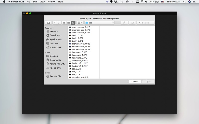 WidsMob HDR-HDR Photo Editor Screenshots