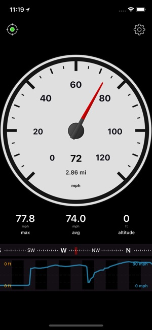 Speedometer Speed Box App Screenshot