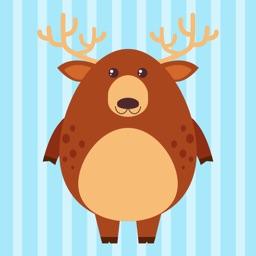 Deer Emoji Stickers