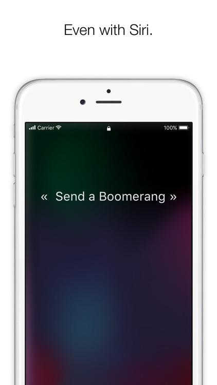 Boomerang : Mail myself