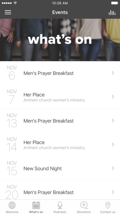 Anthem Church Australia screenshot 1
