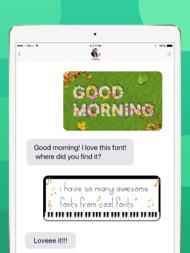 Cool Fonts Keyboard, Text Art ipad images