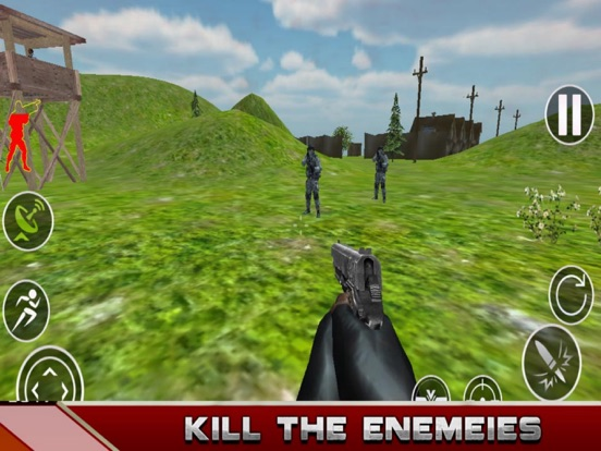 Army Attack - Strike Gun screenshot 5