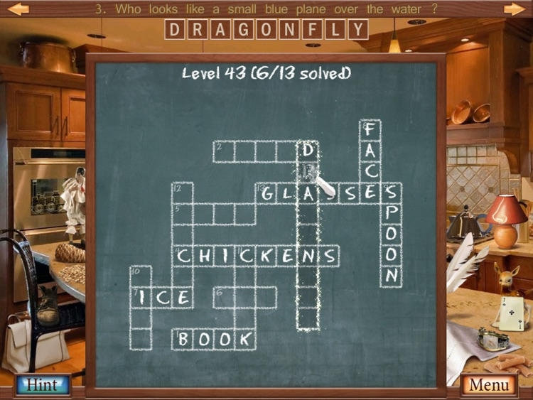 Hidden Object Crosswords HD
