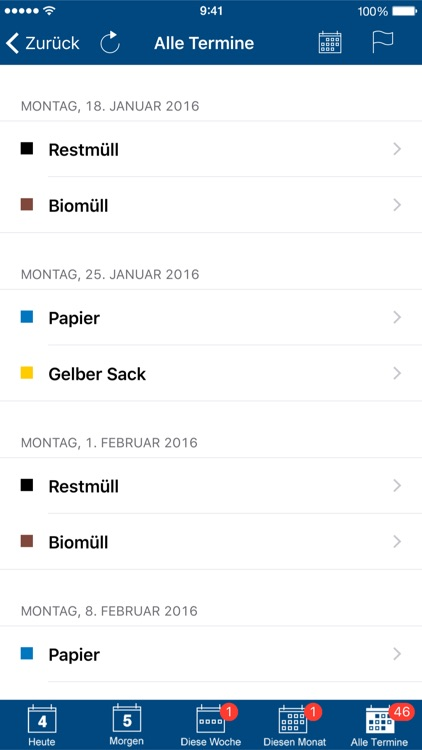 AbfallApp IK screenshot-3