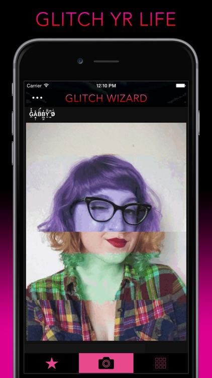 Glitch Wizard - Distort Photos to Trippy GIFs screenshot-4