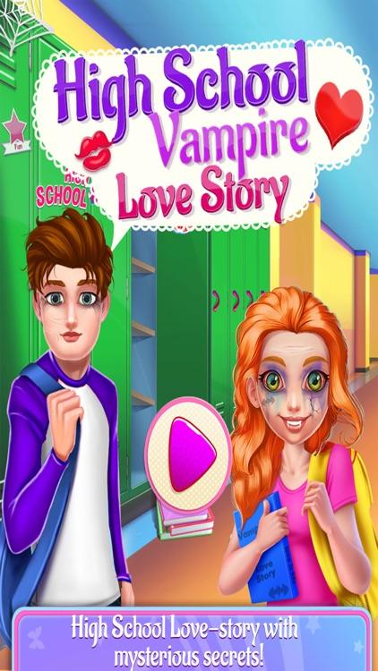 High School Vampire Love Story