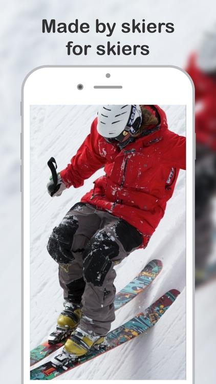 Skiing with Friends™ ski track screenshot-3