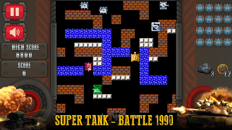 Super Tank - Battle 1990