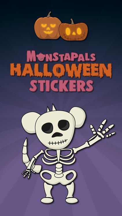 Monstapals Stickers Halloween