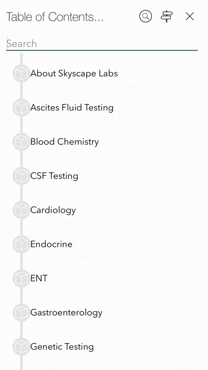 Skyscape Lab Values Mobile App