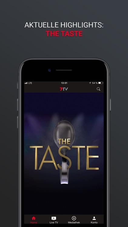 7TV - Mediathek, TV Livestream screenshot-9