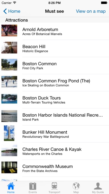Boston Travel Guide Offline screenshot-3