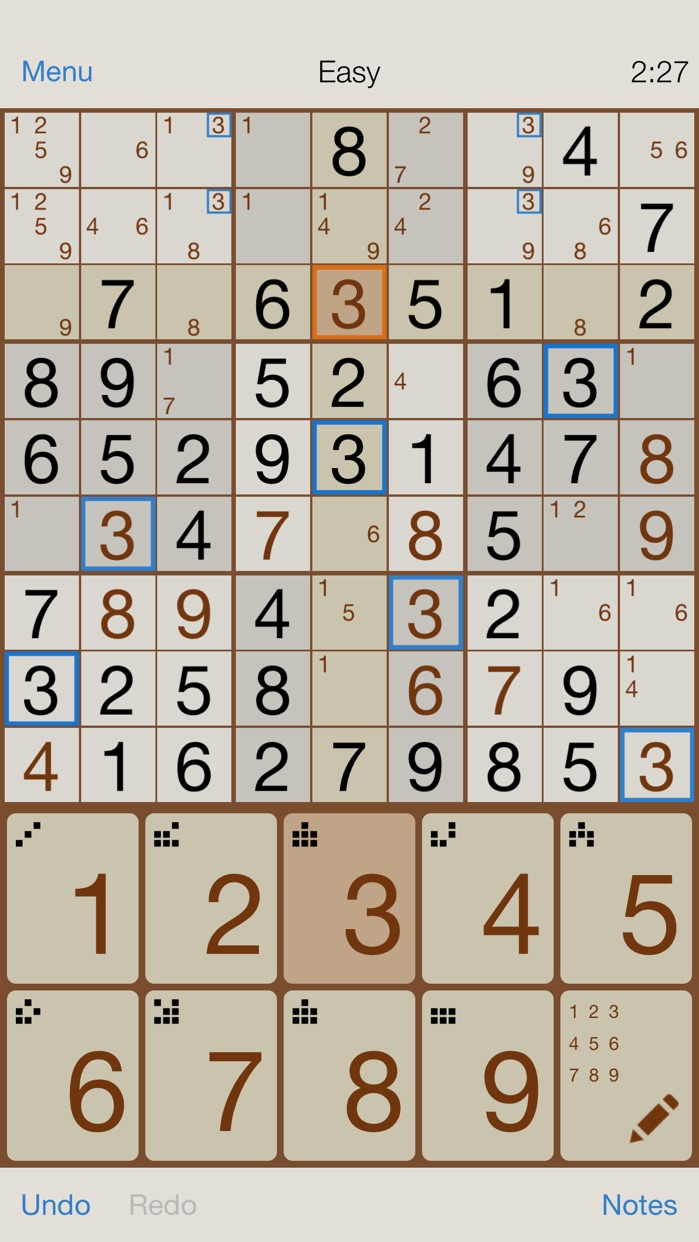 Sudoku - Classic Number Puzzle Screenshot