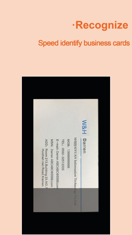 WeCard&business card scanner screenshot-4