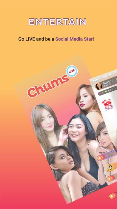 Chums Live Screenshot