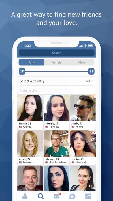 Minichat - videochat, dating Screenshot