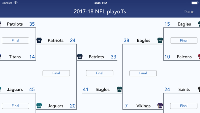 Sports Alerts Screenshot