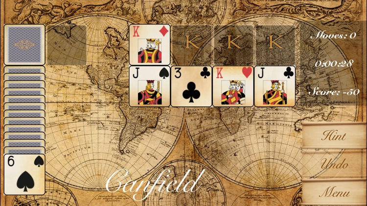 The Canfield Solitaire