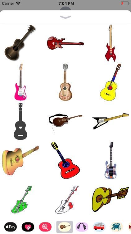 Groovy Guitar Stickers screenshot-9